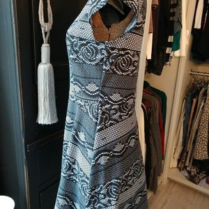 Vibe Dresses - Vibe Sportswear Graphic Cap Sleeve Skater Dress